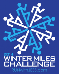 Winter Miles Challenge Button
